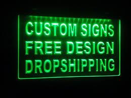 design your own Custom ADV <b>LED Neon Light Sign</b> Bar open ...