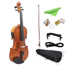 SEWS <b>4/4 Full Size Natural</b> Acoustic Violin Fiddle with Case Bow ...