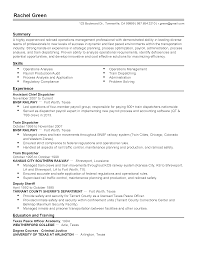 resume for dispatcher resume for dispatcher makemoney alex tk