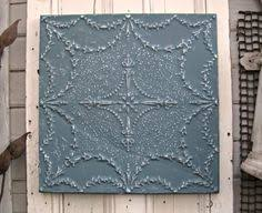 ruth pressed tin tin ceiling tile x framed vintage wall decor antique pressed tin