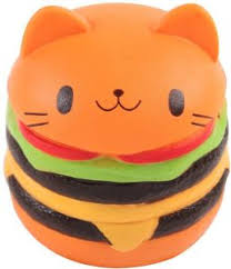 <b>Squishy Toy Slow Rising</b> Cat Burger : Buy Online at Best Price in ...