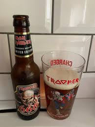 TROOPER - Premium British Beer created by <b>Iron Maiden</b>, brewed ...