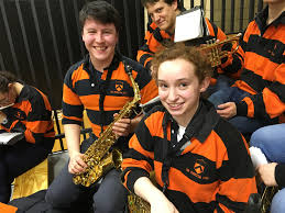 blog princeton university band rugby shirts really make those saxophones and their players conor o 19 and rachel c 19 shine