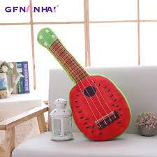 Online Shop 1pc 65cm <b>Creative Simulation Fruit</b> guitar Plush toy ...