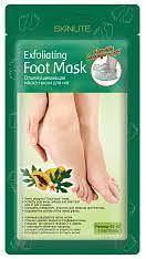 Skinlite Отшелушивающая <b>маска</b>-<b>носки для ног</b>, размер 40-45, 1 ...