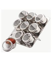 pcs magnetic spice stainless steel containers