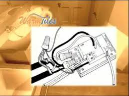 warm tiles installation 240v thermostat wiring youtube 240v Thermostat Wiring 240v Thermostat Wiring #40 wiring 240v thermostat