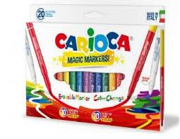<b>Фломастеры</b> STEREO <b>MAGIC</b> (<b>9</b>+9+2шт.) <b>CARIOCA</b> ...