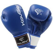 <b>Перчатки</b> боксерские KouGar KO300-8 <b>8oz</b> синий: купить за 1080 ...
