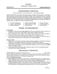 executive resume template word samples examples format executive resume template word