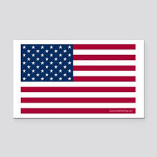 <b>American Flag Car</b> Magnets - CafePress