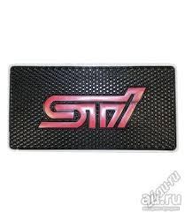 <b>Коврик</b> на панель <b>антискользящий, на торпеду</b> STI Subaru ...