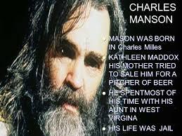 「Charles Milles Manson」の画像検索結果