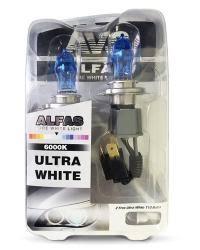 Газонаполненные <b>лампы AVS ALFAS Pure-White</b> 6000К H4 12V ...