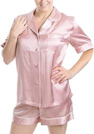 OSCAR ROSSA Women's <b>Luxury Silk</b> Sleepwear 100% <b>Silk Short</b> ...