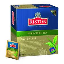 <b>Чай Riston</b> English <b>Tea Pure</b> зел.100 пак/пач. - <b>Чай зелёный</b> в ...