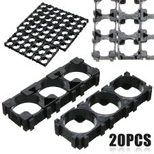 On Sale <b>20pcs 3x Cell 18650</b> Battery Spacer Plastic Battery ...