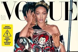<b>Gigi Hadid</b> apologises for 'blackface' <b>Vogue</b> Italia cover: 'It was not ...