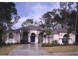 Page of   Mediterranean House Plans   The House Plan Shop    Florida House Plan Photo  H