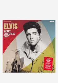 <b>Elvis Presley</b>-<b>Merry</b> Christmas Baby LP (Color) | Newbury Comics