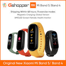 <b>2020 Original Xiaomi Mi</b> Band 4 Band 5 Smart Wristband Screen ...