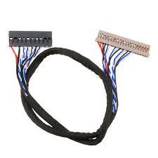 Generic Driver Board FIX-30P-D6 Single 6 Bit 30 pin LCD LVDS ...