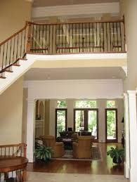 images about Unbelievable Home Plans on Pinterest   House    Enticing indoor balcony greets guests into this amazing home  Plan S    houseplansadnmore