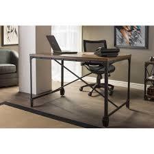 vintage home office desk baxton studio greyson vintage industrial antique bronze home office wood desk alymere home office desk