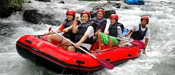 Image result for rafting telaga waja