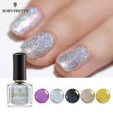 BORN PRETTY Голографический лазерный <b>лак для ногтей</b> 6 мл ...