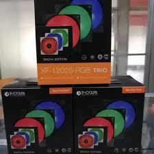 <b>IDcooling XF 12025 RGB Trio</b> Snow Edition | Shopee Philippines