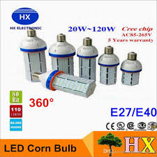 NEW 30W 40W 60W 80 <b>100W</b> 120W LED Corn Bulbs with Input ...