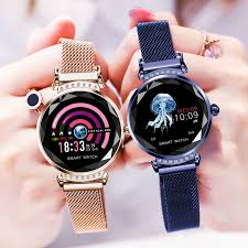 B80 <b>Smart Watch H3</b> Women <b>Smartwatch</b> Diamond Glass Lady ...