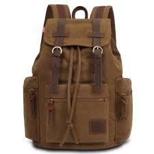 Mlitdis 2017 canvas backpack men vintage fashion bookbag for ...