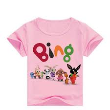 Spring Boys Long Sleeved T Shirts Kids Teen Clothes <b>Cartoon Bing</b> ...