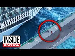 <b>Couple</b> Tries to Stop Cruise Ship From Leaving Port - YouTube