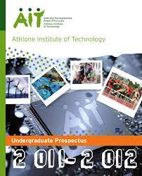 AIT undergraduate prospectus         by Athlone Institute of