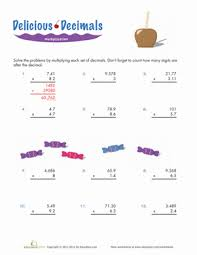Multiplying Decimals | Worksheet | Education.comFifth Grade Decimals Multiplication Worksheets: Multiplying Decimals