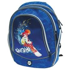 «<b>MagTaller Ранец школьный</b> Cosmo ll Snowboarder ...