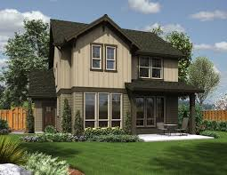 Home Plans   a Great Indoor Outdoor ConnectionSmall Craftsman Home Plan BA   The Halsey