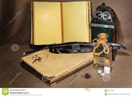 old fashioned alchemist`s or ancient writer`s workspace stock old fashioned alchemist`s or ancient writer`s workspace