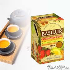 <b>Чай ассорти Basilur</b> Волшебные фрукты 20 пакетиков | с доставкой