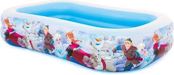 """<b>Бассейн</b> надувной <b>Intex</b> """"Disney. <b>Холодное</b> сердце"""", 262 х 175 х ..."""