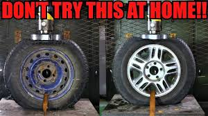 STEEL Vs. <b>ALLOY</b> WHEELS Which One Is Stronger? Hydraulic ...