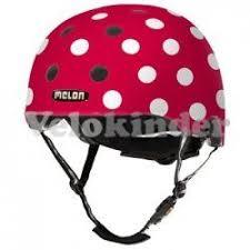 <b>Шлем Melon Dotty White</b> | Купить в интернет-магазине Velokinder.ru