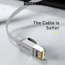 <b>BASEUS</b> 8m <b>Cat</b> 6 RJ45 <b>High Speed</b> Gigabit Network Cable (Flat ...