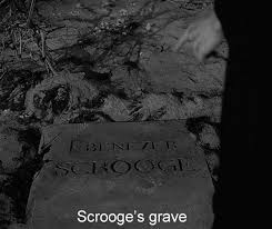 norman holland on brian desmond hurst s a christmas carol orscrooge scrooge s grave scrooge dancing a polka