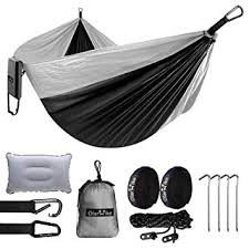OlarHike Double <b>Camping Hammock</b>, <b>Lightweight Portable</b> Nylon 2 ...