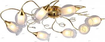 <b>A9289PL</b>-<b>8GO Люстра</b> потолочная белая E14 <b>Arte Lamp</b> Mughetto ...