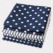 dish towel blue white